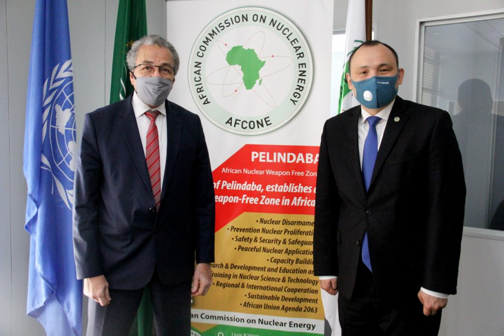 ENGAGEMENT WITH THE AFRICAN COMMISSION ON NUCLEAR ENERGY: CENTRAL ASIA AND AFRICA WILL BENEFIT FROM INTER-REGIONAL DIALOGUE ON NUCLEAR ENERGY GOVERNANCE
