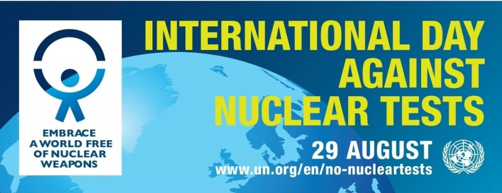 KAZAKHSTAN CONTINUES ITS STRONG COURSE  TOWARDS NUCLEAR-WEAPON-FREE WORLD, 29TH AUGUST 2020