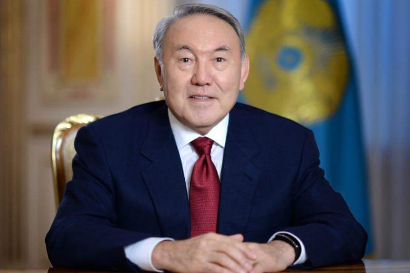 THE FIRST KAZAKH PRESIDENT NAZARBAYEV GIVEN THE STATUS AS A CHAMPION FOR A WORLD FREE OF NUCLEAR TESTS