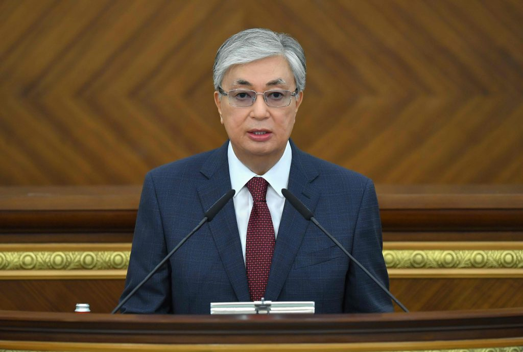 STATE OF THE NATION ADDRESS BY H.E. MR. KASSYM-JOMART TOKAYEV, PRESIDENT OF THE REPUBLIC OF KAZAKHSTAN. 1 September 2020