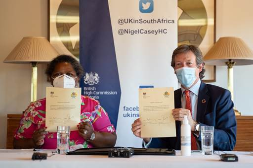 UK Government donates R50m to South Africa's Solidarity Fund for projects supporting and promoting women