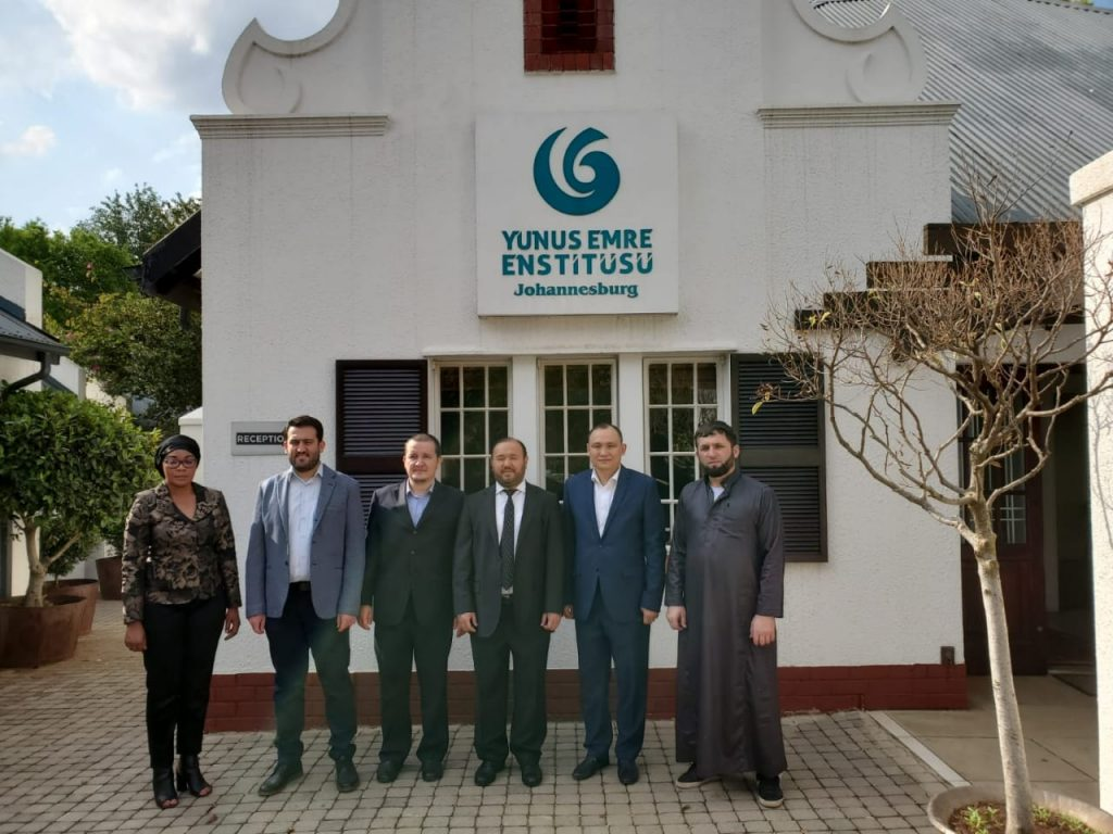 HIS EXCELLENCY MR. KANAT TUMYSH, AMBASSADOR OF KAZAKHSTAN TO THE REPUBLIC OF SOUTH AFRICA VISITED JOHANNESBURG YUNUS EMRE INSTITUTE AND THE TURKISH CULTURAL CENTRE-SOUTH AFRICA