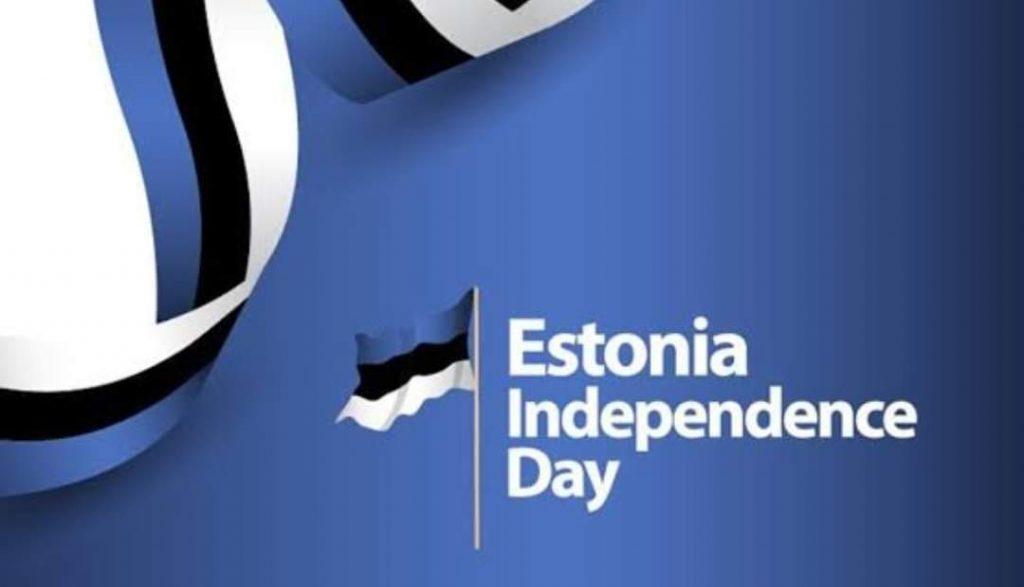 HAPPY INDEPENDENCE DAY TO ESTONIA. 🇪🇪