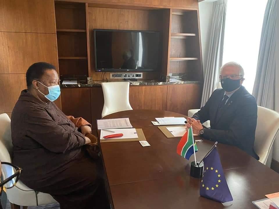Bilateral Meeting between Minister Naledi Pandor and Mr Joseph Borrell Fontelles