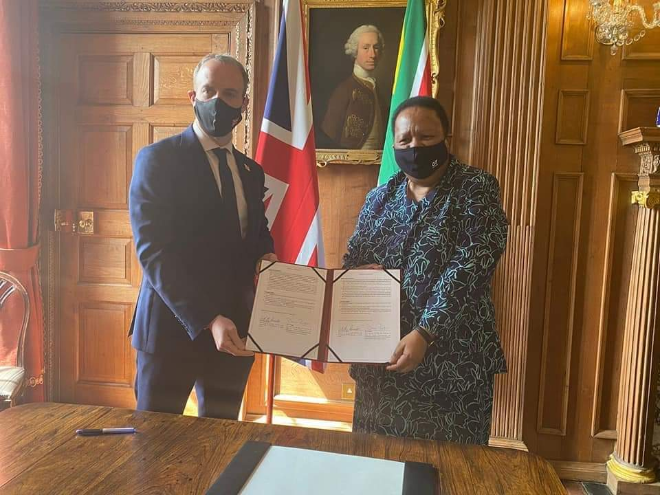 South Africa and the UK holds a Joint Ministerial Commission in the UK