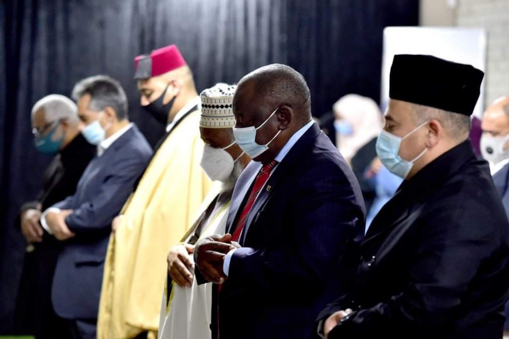 PRESIDENT CYRIL RAMAPHOSA JOINS THE SOUTH AFRICAN MUSLIM COMMUNITY FOR AN EVENING OF IFTAAR